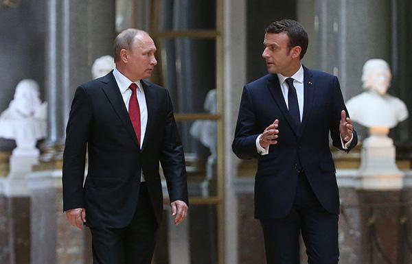 克里姆林宫:普京与马克龙通话,讨论了俄乌关系和伊朗局势