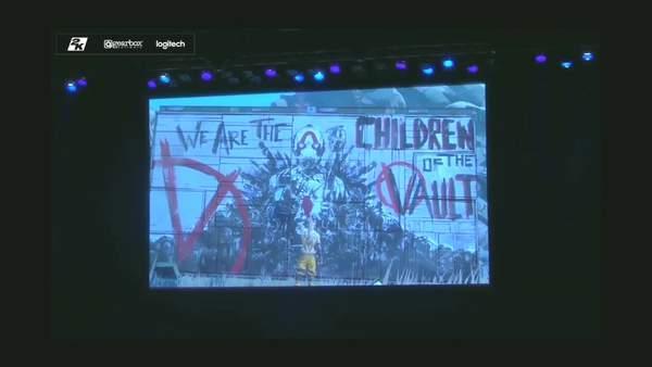 2K举办《无主之地3》发售Party开场主题曲/动画欣赏