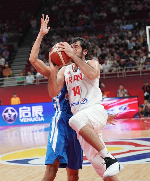 男篮世界杯排位赛伊朗95:75大胜菲律宾
