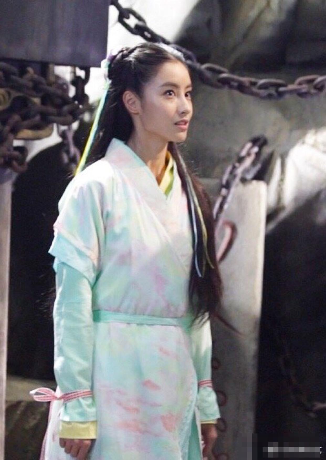 毛晓慧版小龙女还没有播出,新节目她的赵灵儿却让人很惊艳