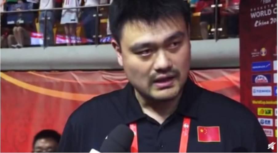 中国无缘男篮直通奥运 姚明一个字回应