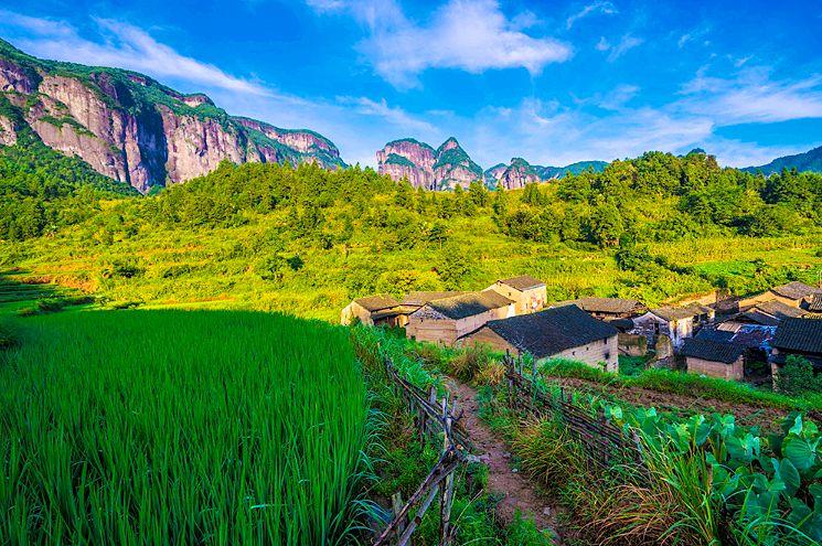 单老村风景图片