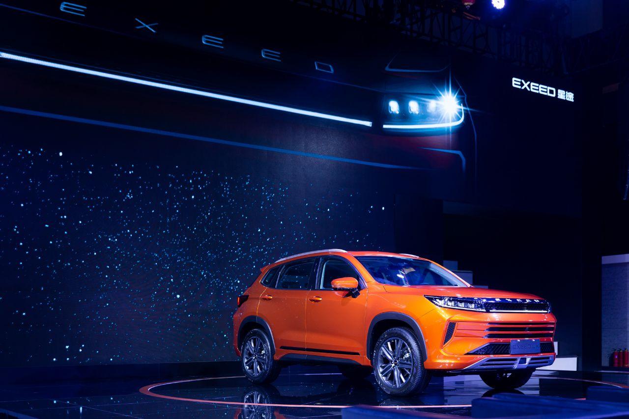 EXEED星途LX成都车展全球首发预售,不足13万起,你为它买单吗