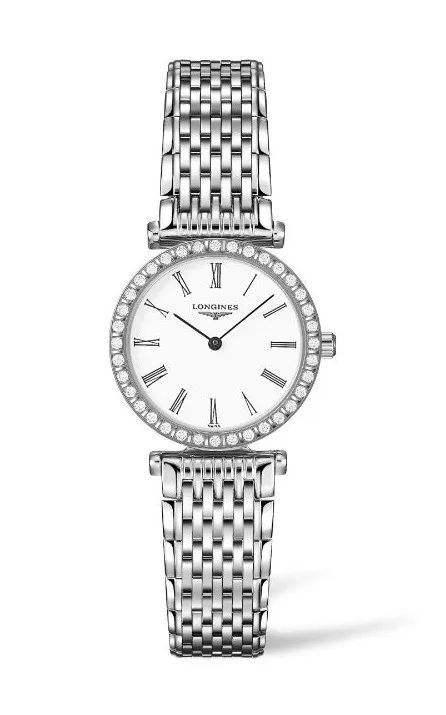 深得浪琴最初设计传统精髓的嘉岚系列腕表