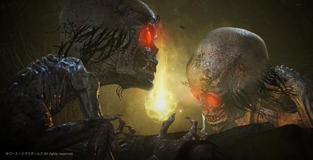 光荣新作《仁王2》公布新妖怪大头骷髅诡异恶心强力