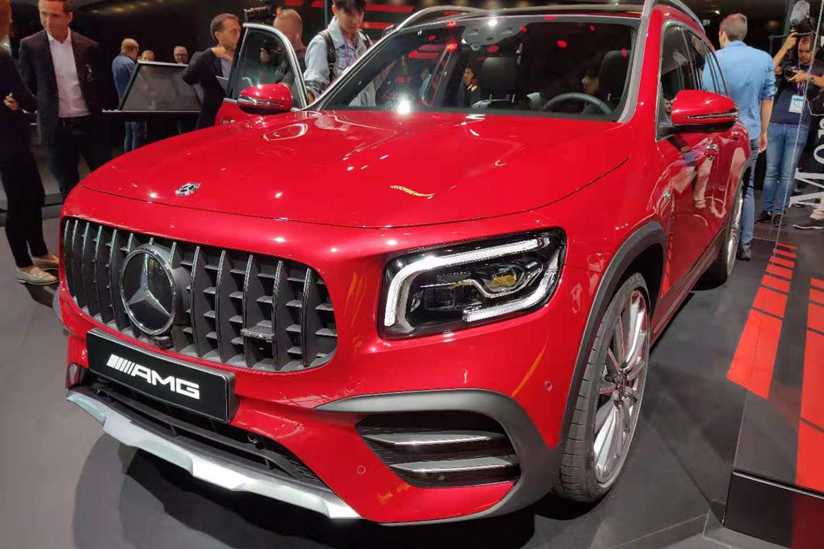 2019法兰克福车展:全新AMG GLB 35首发