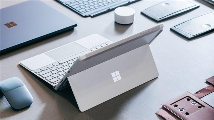 微软SurfaceGo2跑分曝光:搭载IntelCorem3处理器