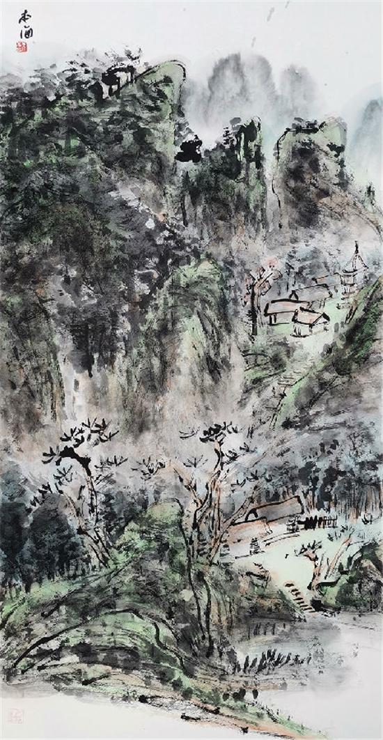 余本海--积墨成山个人作品展即将在北京798艺术区开幕