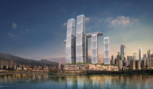看重庆来福士购物中心设计如何融