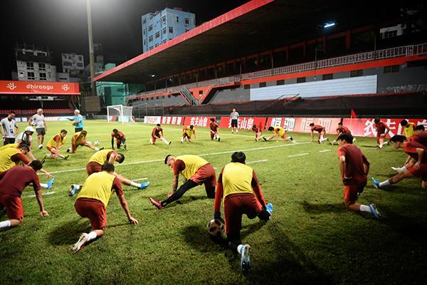 国足今夜迎战马尔代夫,里皮对世预赛赢球充满信心