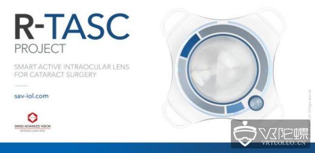 """瑞士SAV-IOL研发""""智能隐形眼镜"""",未来或将导入AR成就"""