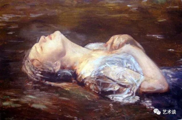 赏古典油画里唯美人体艺术美女