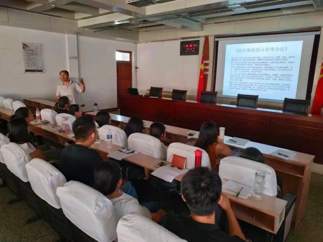 冠县人民医院开展新入员工岗前培训与素质拓展训练活动|冠县人民医院
