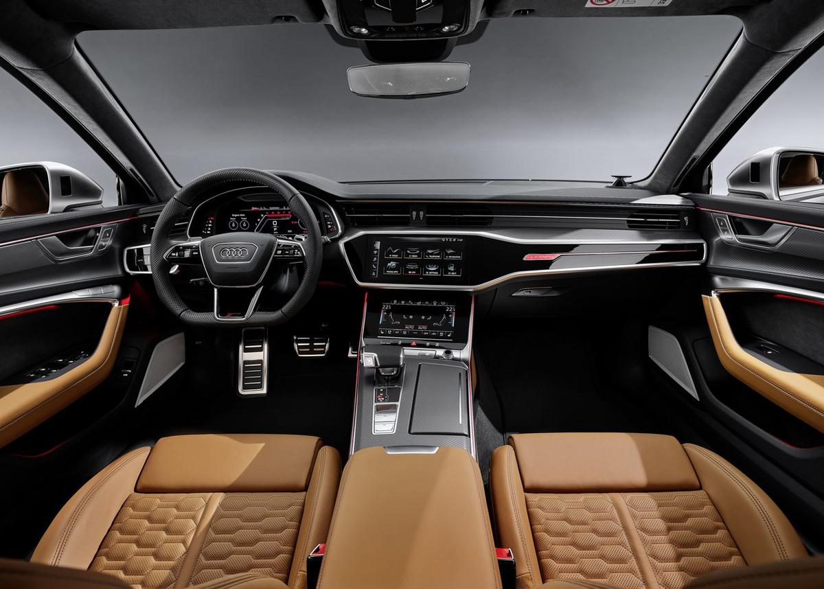 2019法兰克福车展:全新奥迪RS6 Avant实车亮相