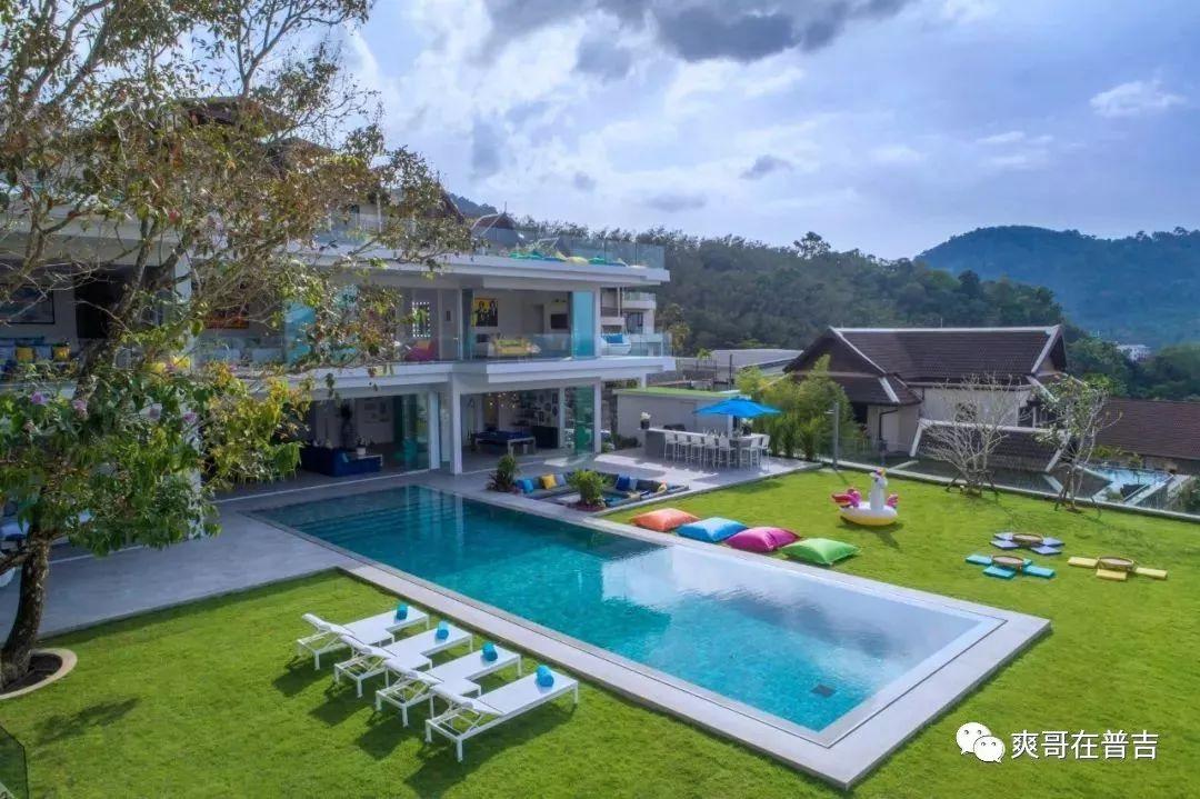 新上市!普吉岛巴东区1600平方视野的豪华泳池别墅年收入40万美元!