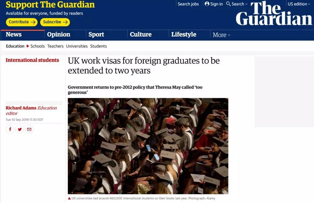 豪气网赚:英国留学签证最新消息丨PSW签证这次真的要回归
