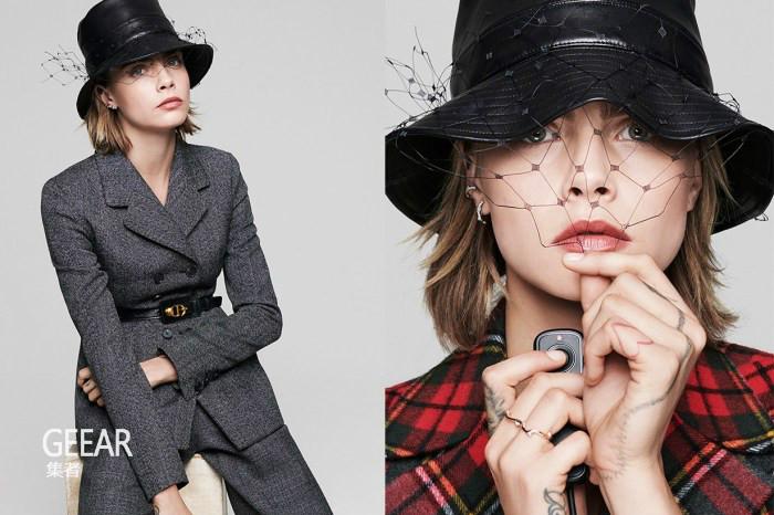 Dior最新2019秋冬系列硬照,把卡拉·迪瓦伊拍得很美!
