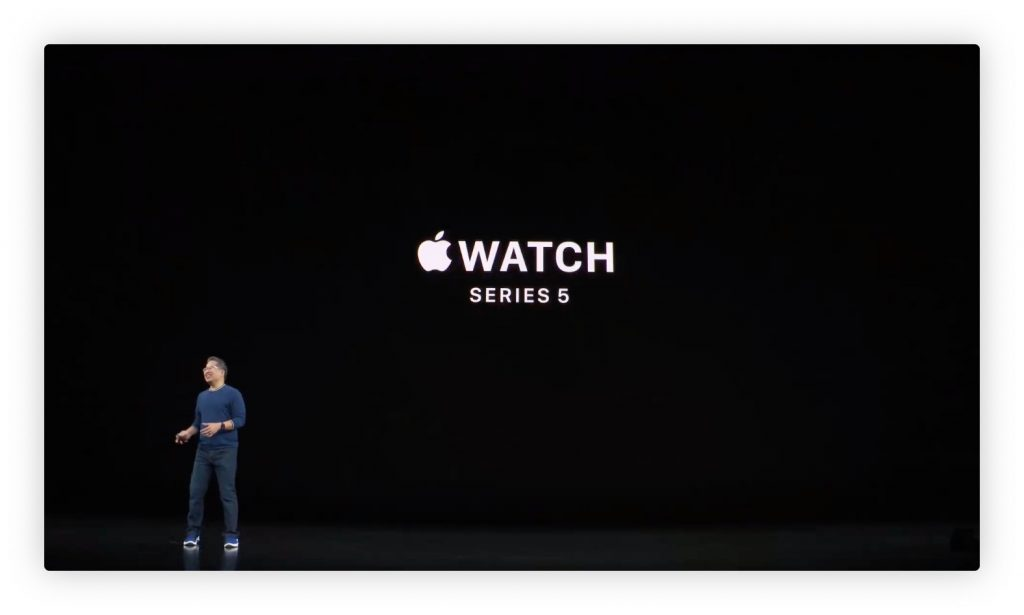 Apple Watch Series 5 发布,3199 元起售