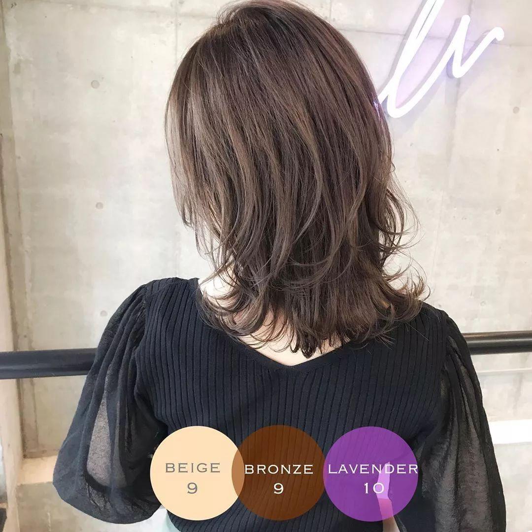 发型| 齐肩发有层次更好看 适合各种脸型的发型图片