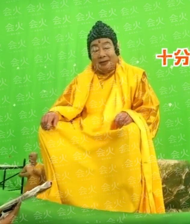 80岁朱龙广再复出!近照还原西游记如来形象,还曾扮佟湘玉的爹?
