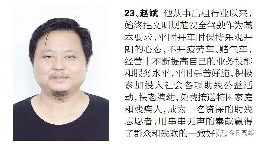 """""""交通运输杯""""高邮市第二届优秀出租车司机评"""
