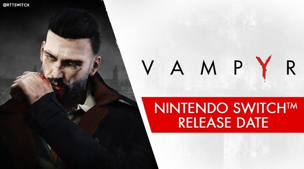 叙述RPG游戏《吸血鬼》10月8日登陆Switch