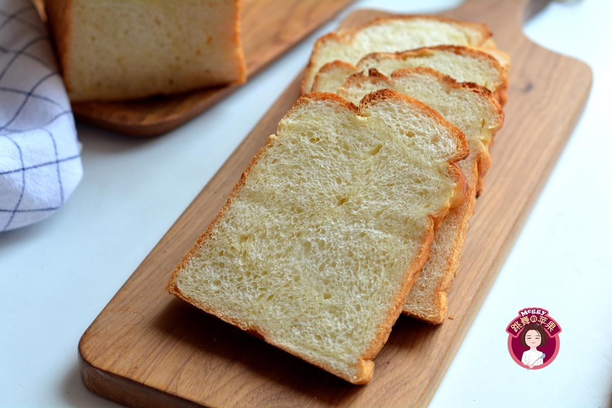 我做的面包超柔软,手攥紧一松开,完好如初,儿子吃半个都没够