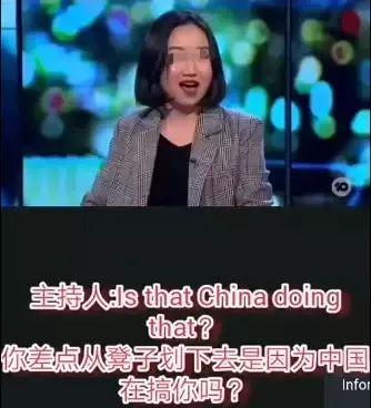 這名華人女留學生跪舔白人的樣子,真丑陋!為了外國身份竟然這么圖片