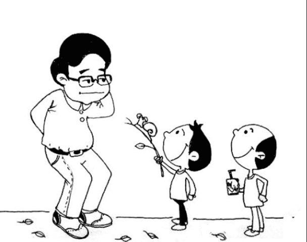 教师节给老师献花简笔画