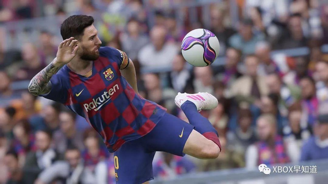 Xbox One《实况足球 2020》正式发售 支持官方中文 4K HDR10 专属强化