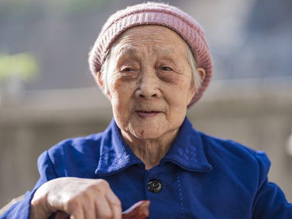 紫阳百岁老人后代兴茶记