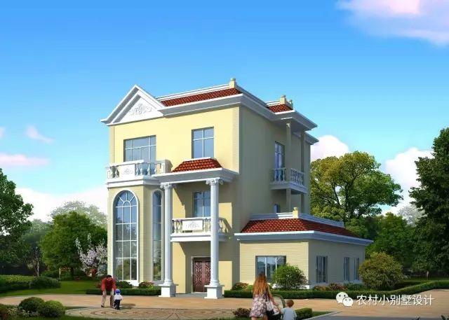 10套新农村别墅设计图和预算,这么修倍儿有面子