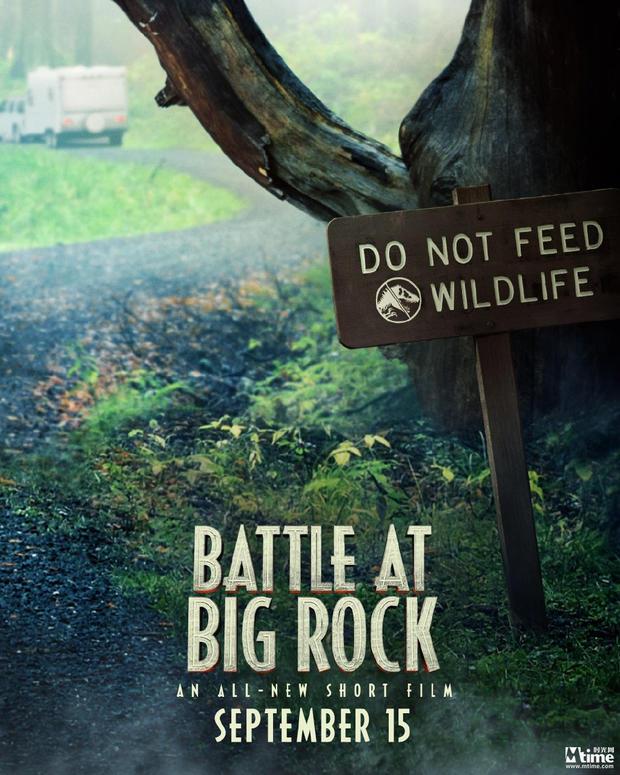《侏罗纪世界2》番外短片定档发海报