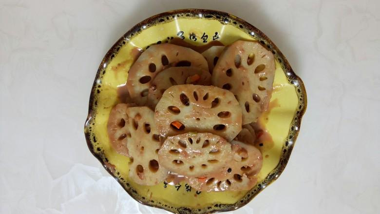 腐乳莲藕 [下饭的素菜菜谱,腐乳莲藕,做法简单,健康营养,比肉好吃]