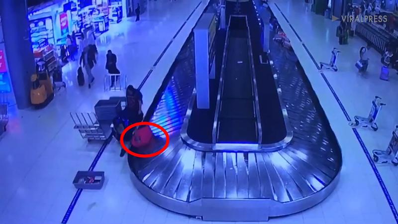 外籍夫妇泰国机场顺走中国游客行李!返程办理登机后被警方逮捕