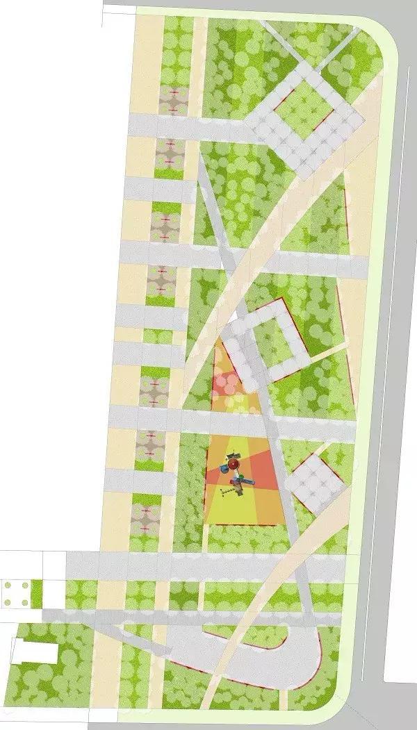 外摆区域设计图片
