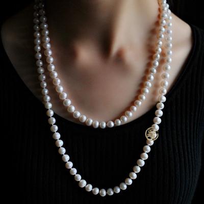 珍珠项链应该如何佩戴?
