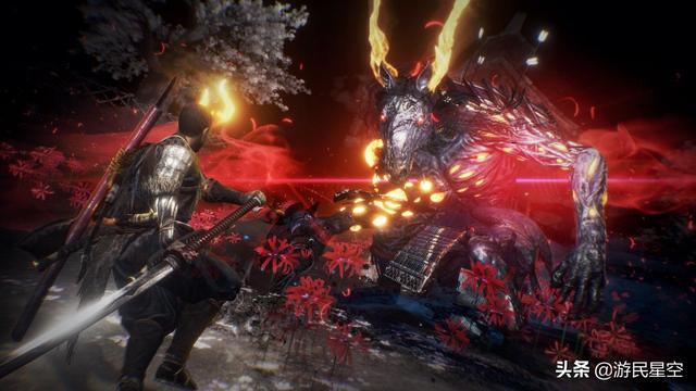 TGS:《仁王2》官方新截图 主角妖化鏖战猛鬼