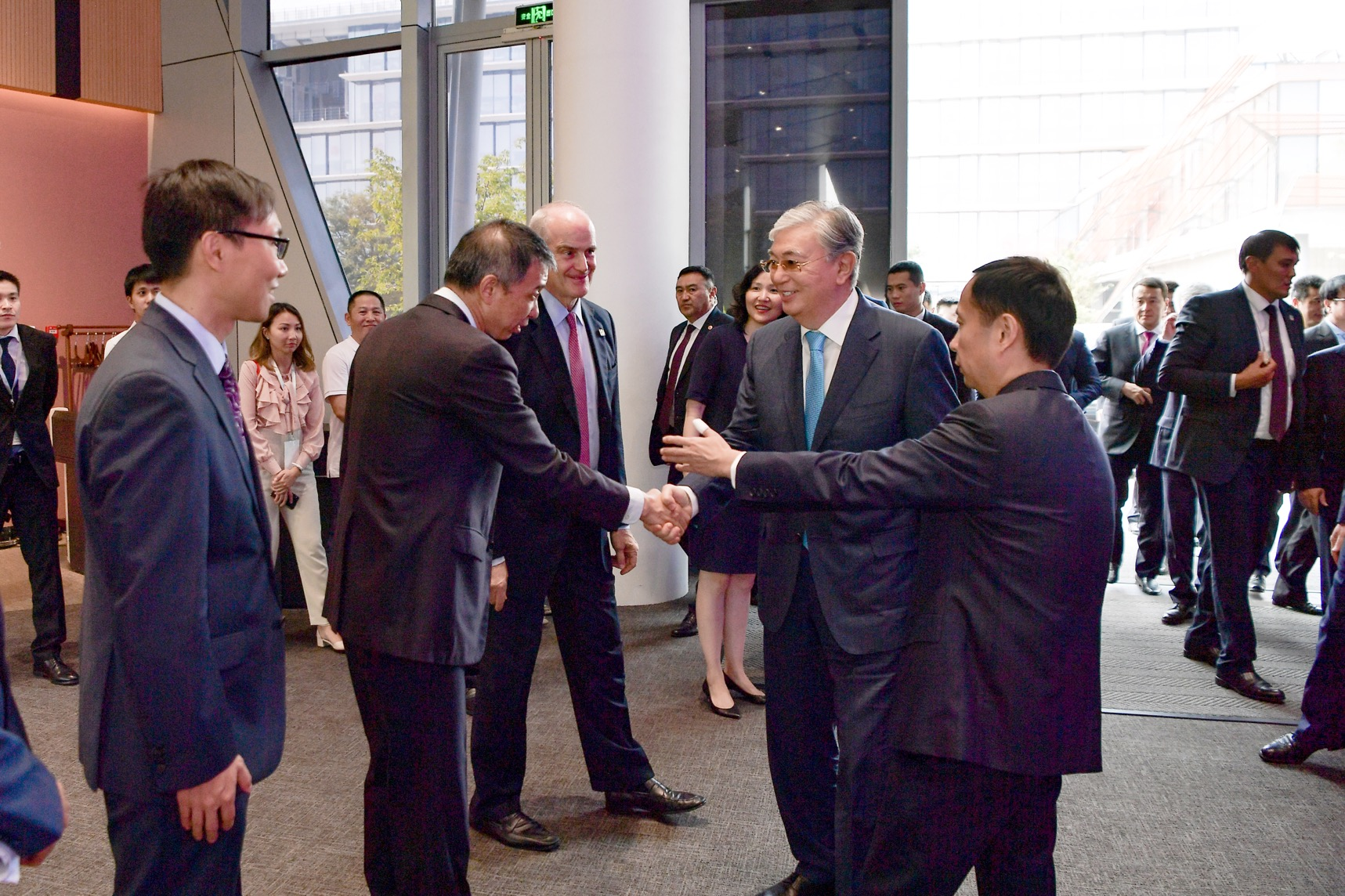 来自杭州的王坚受总统约请成了哈萨克斯坦高科技参谋