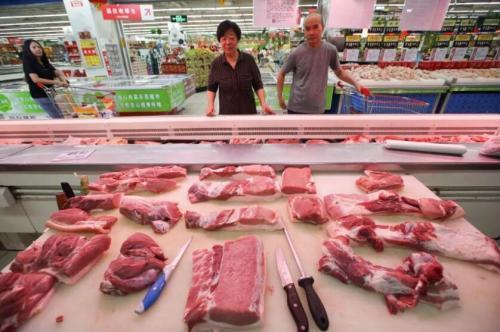 凍了一個月的豬肉 為了穩住豬肉價格,國務院一個月內第二度出手