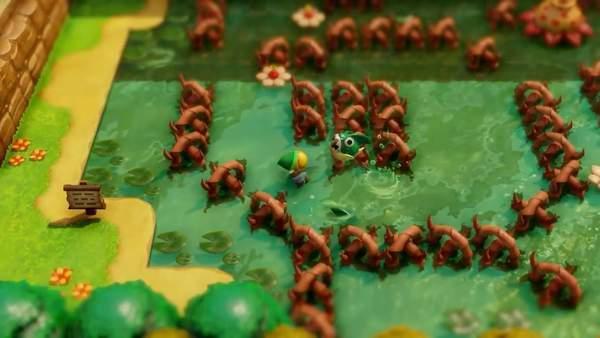 《塞尔达传说:织梦岛》新宣传片玩法多样,趣味十足