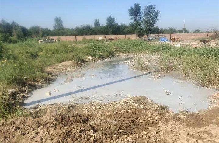 阳信一塑料加工厂周围污染严重