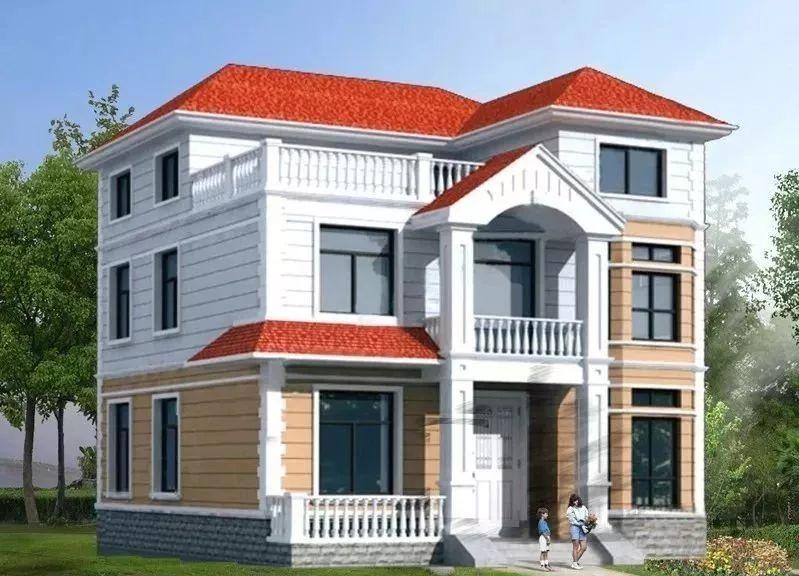 农村建一屋房屋设计图