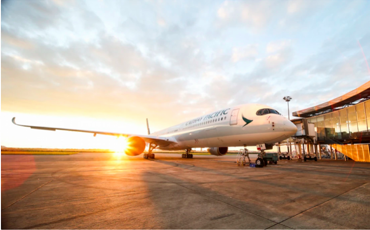[國泰航空8月客貨運量現兩位數下降!內地乘客銳減,預計9月持續] 國泰航空