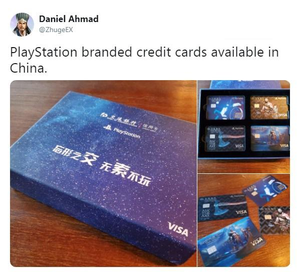PlayStation交行信用卡开箱奎爷父子威武霸气
