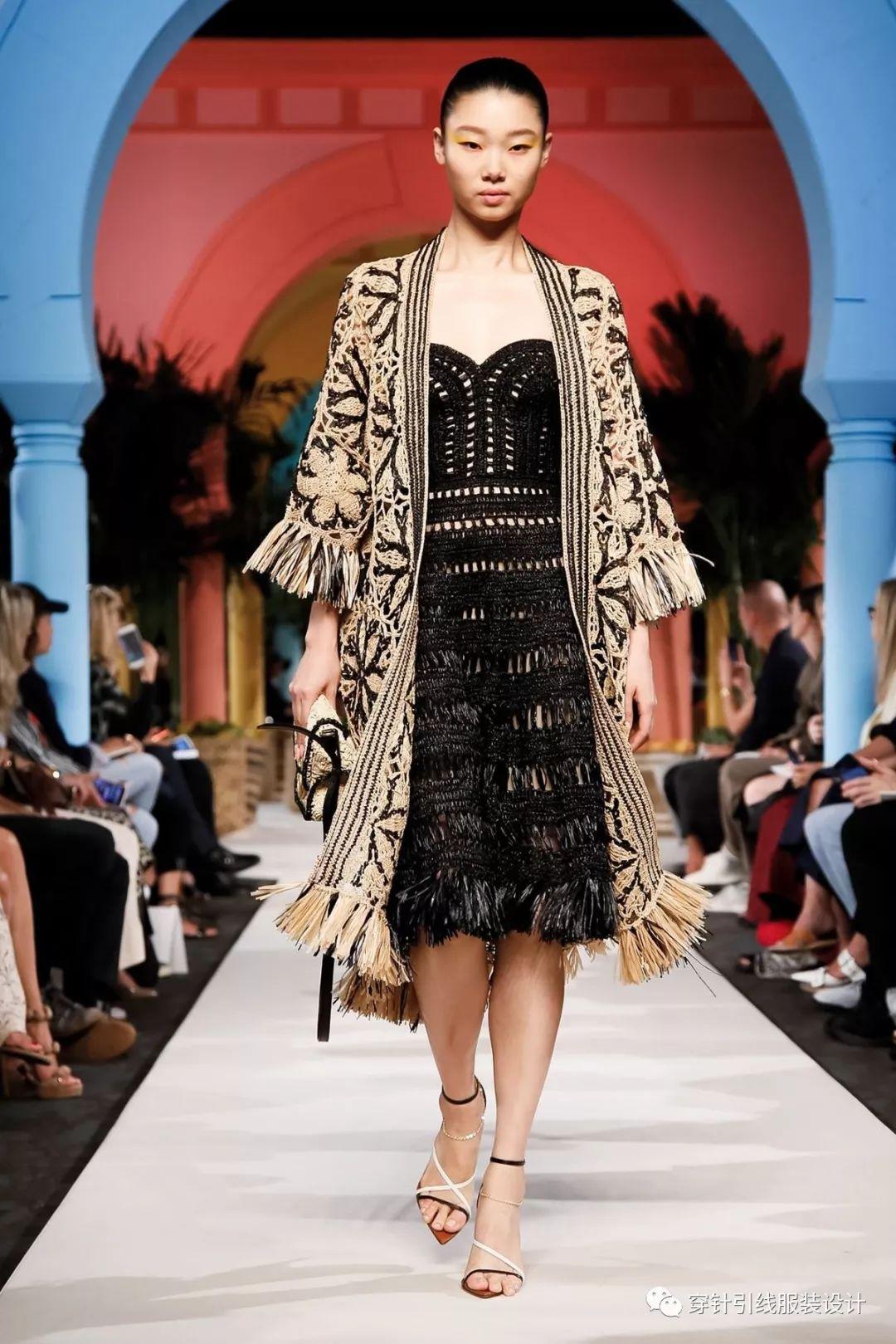 纽约时装周 Oscar de La Renta 2020春夏系列 度假风格全代表