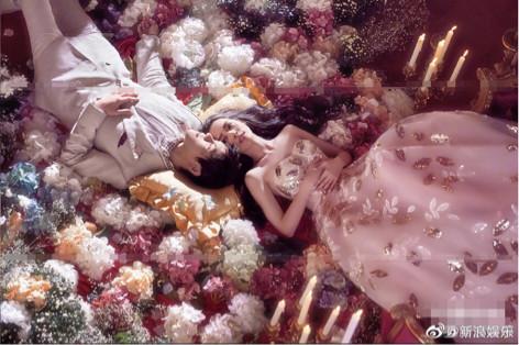 向佐郭碧婷婚纱照曝光,甜蜜告白对方,婚礼
