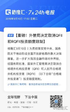 【取消QFII與RQFII投資額度限制,利好哪些行業?】 貿易戰利好什么行業