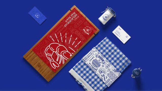 面食品牌Vi设计案例