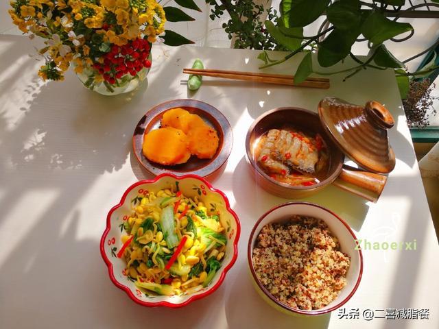 减肥适合吃的午餐菜谱大全图片